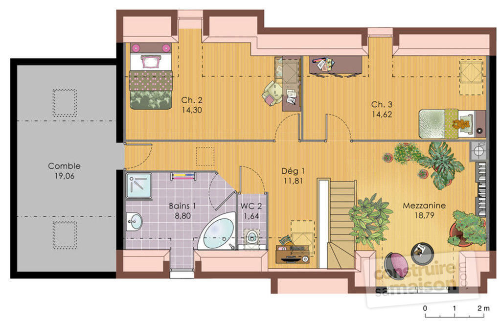 Plan maison senegal plan maison 150m2 plain pied rf for Plans d une maison