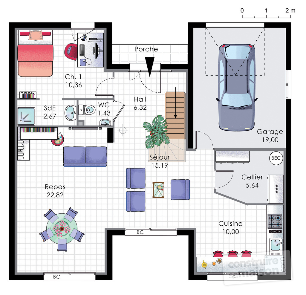 excellent amazing plan habill rdc maison maison familiale with faire un plan de maison with comment faire des plan de maison - Comment Faire Le Plan De Sa Maison