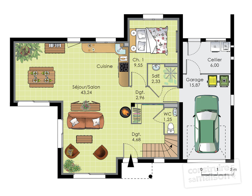 Plan de maison contemporaine avec etage ventana blog for Plan de maison moderne a etage