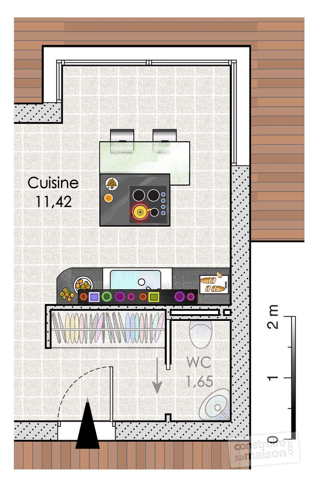 Maison design d tail du plan de maison design faire - Plan maison deux etages ...