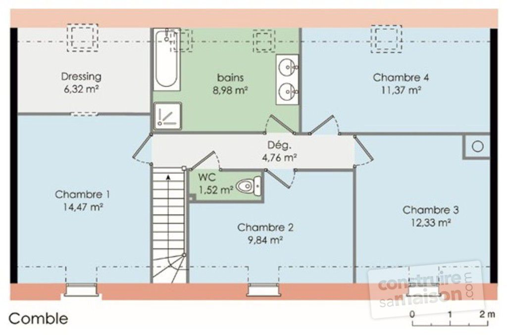 Plan De Maison M Top Cruquius With Plan De Maison M