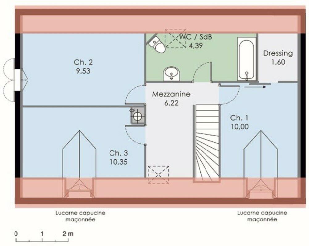 beautiful plan etage maison maison pictures to pin dessiner son plan de maison with dessiner son plan de maison en ligne - Dessiner Son Plan De Maison En Ligne