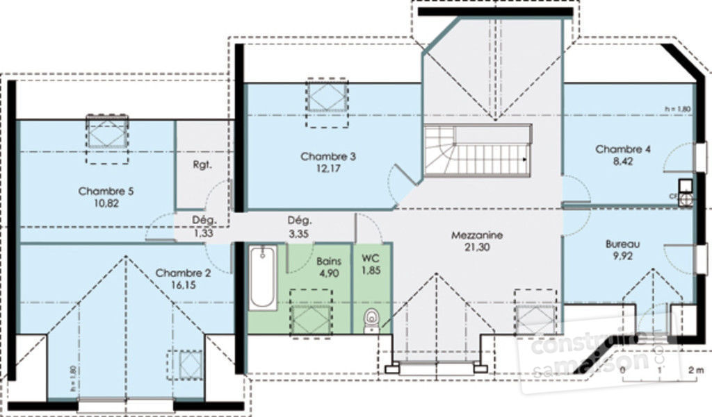 Plan De Grande Maison. Affordable Colonnade Floor Plan With Plan De