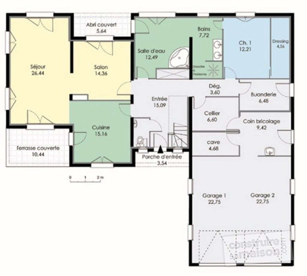 Perfect Plan Rdc   Maison   Maison Contemporaine 3 ...