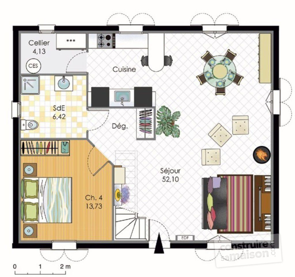 Plan maison bbc aj42 jornalagora for Plan maison contemporaine bbc