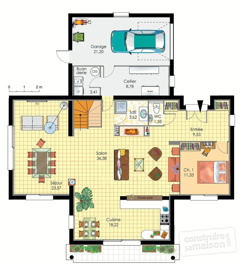 Plan de maison d architecte avie home for Architecte plan maison gratuit