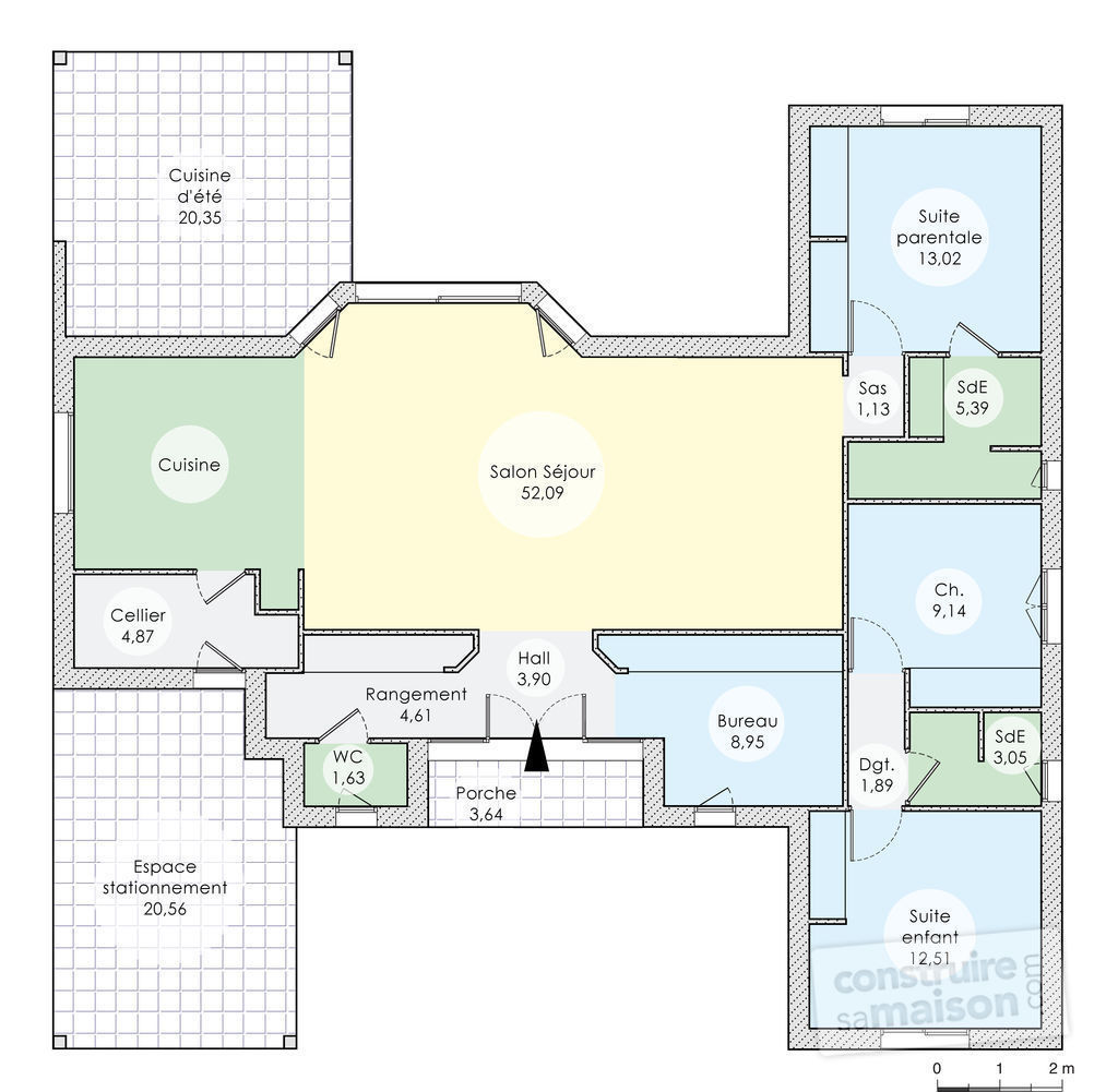Plan complet maison gallery of plan de maison moderne for Plan complet maison