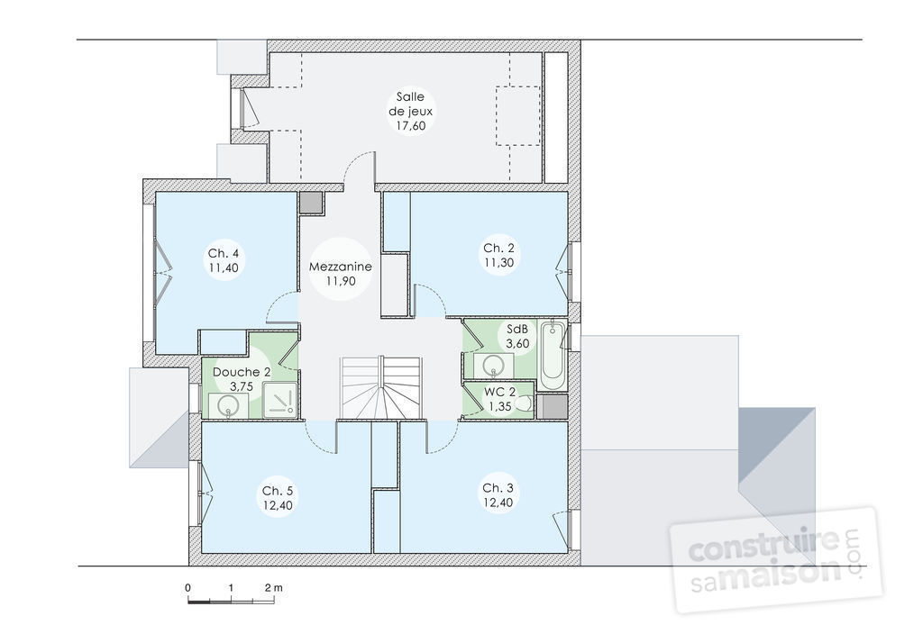 Plan Maison Handicap Triplex Apartment Plans Sq Ft 3 Unit