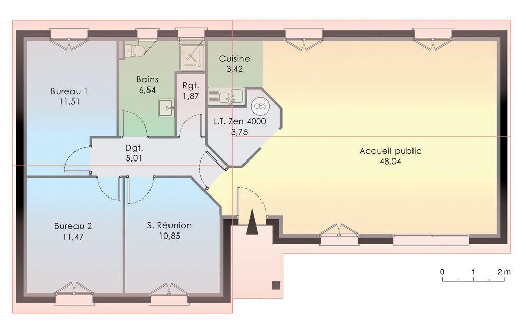 plan rdc maison maison nergie positive 1 - Maison A Energie Positive Plan